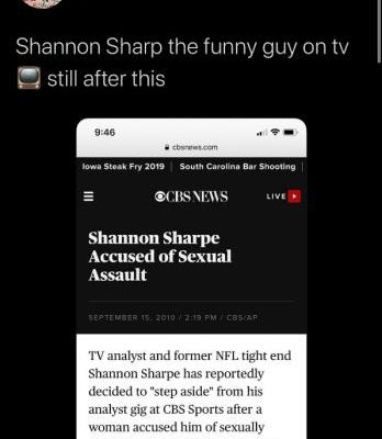 Shannon Sharpe responds to AB's Twitter criticism