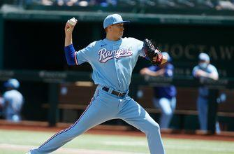 Kyle Gibson goes eight strong innings, strikes out six in Rangers' 1-0 win over Orioles