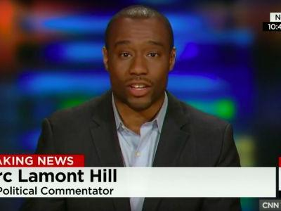 CNN Contributor Marc Lamont Hill Denounces Louis Farrakhan After a Photo of the Two of Them Surfaces