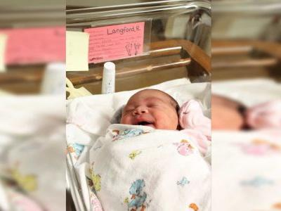 Baby born on 7-Eleven Day at 7:11 p.m., weighing 7 pounds and 11 ounces