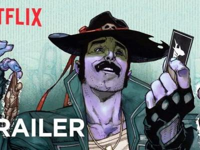 Mark Millar's Sharkey the Bounty Hunter Trailer is Here