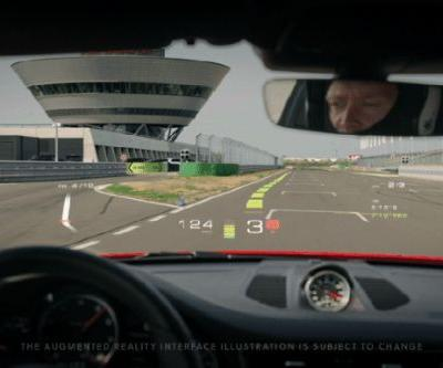 Porsche leads $80 million investment in WayRay to bring holographic AR displays to cars