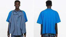 Balenciaga Is Selling A Shirt With A Shirt Attached To It For $1,290