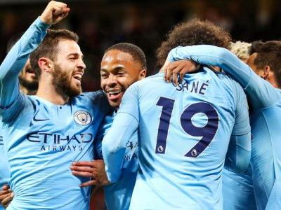 Manchester City win at United to take big step toward Premier League title