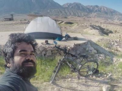 Kerala man cycled all the way to FIFA World Cup 2018 in Russia and he had a reason to