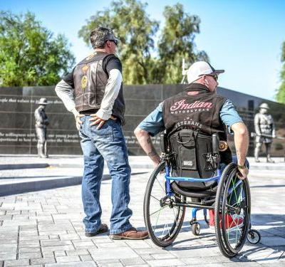 Indian Motorcycle Veterans Charity Ride 2019