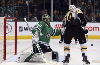 Dickinson scores in OT to lift Stars over Bruins 1-0