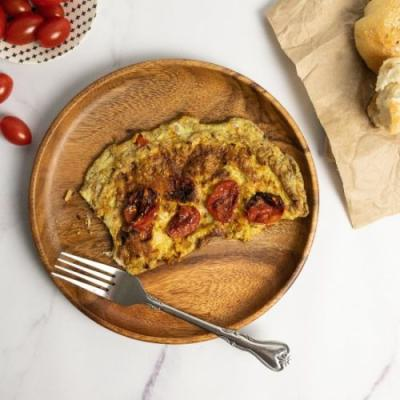 Rustic Tomato Omelet