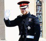 While You're Swooning Over Meghan's Gown, Don't Forget to Swoon Over Prince Harry's Uniform, Too