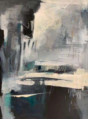 """Contemporary Art, Abstract Painting, Expressionism, Fine Art for Sale """"Many Worlds"""" by Intuitive Artist Joan Fullerton"""