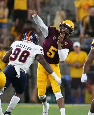 Arizona State opens Herm Edwards era with 49-7 rout of UTSA