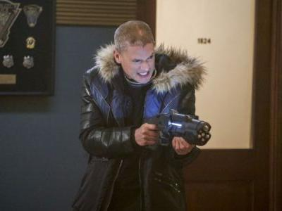 Wentworth Miller is Back in The Flash Fury Rogue Photos