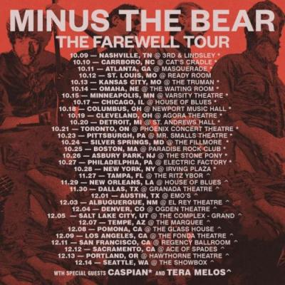 Minus the Bear announce break up