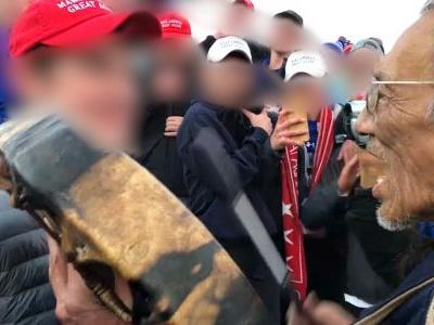 Kentucky high school investigates students' alleged mockery of Native American at rally