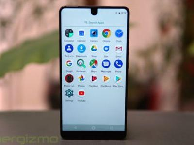 New Android Pie Update May Bring BackEssential Phone Notch Settings