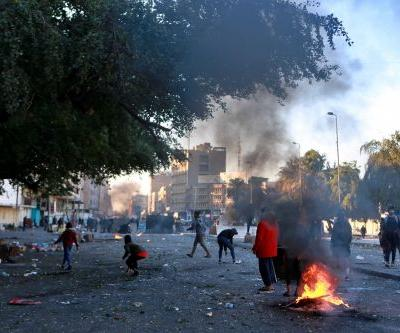 Rocket strikes dining facility at US Embassy compound in Baghdad