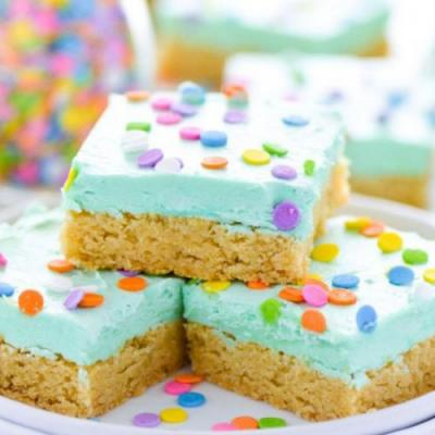 Gluten Free Sugar Cookie Bars