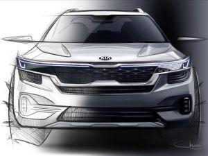 Kia SP2i Design Sketches Revealed
