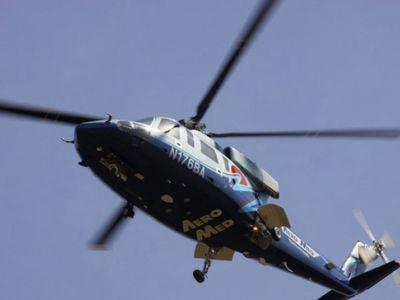 Dispatch: Aero Med launched after person pinned following crash