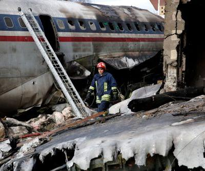 Iranian cargo plane crash kills 15, leaves 1 survivor