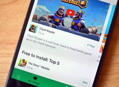 You can try games before downloading them with Google Play Instant