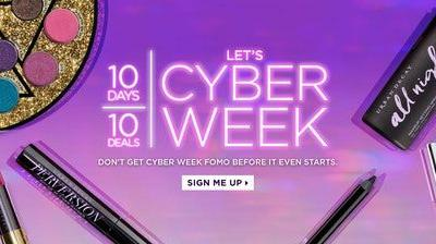Urban Decay's Black Friday & Cyber Monday 2018 Sales Are Really 10 Days Of Major Discounts