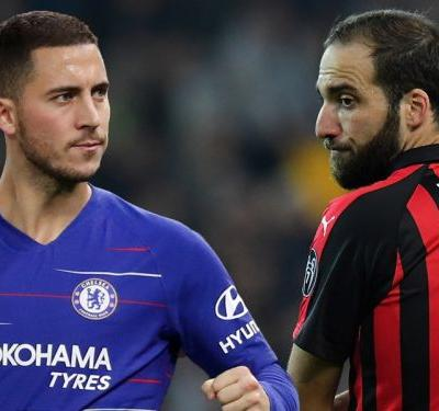 Higuain joining Chelsea will finally end Hazard's false nine frustration
