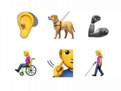 Apple submits new accessibility emoji to Unicode Consortium, includes prosthetic limbs, guide dogs, more