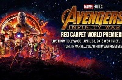 Watch Avengers: Infinity War Red Carpet World Premiere LiveThe