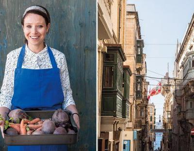 Meet the chef who swapped Malta's seaside for school dinners in Hackney