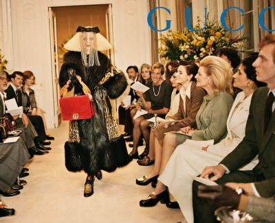 We're Back To The Olden Days of Fashion With Gucci's Latest Campaign