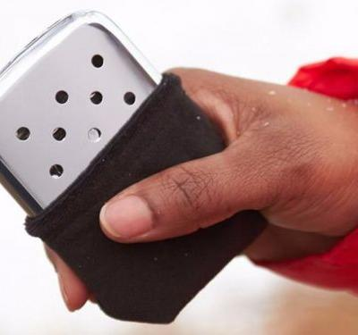 These inexpensive hand warmers provide up to 12 hours of steady heat and are built to last a lifetime