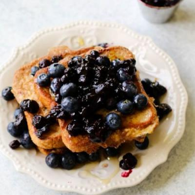 Blueberry Pie French Toast