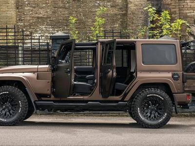 Kahn Design's New Custom Jeep Is Unexpectedly Sane, And We Like It