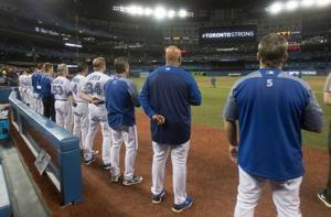 Blue Jays honor victims of Monday's deadly van attack