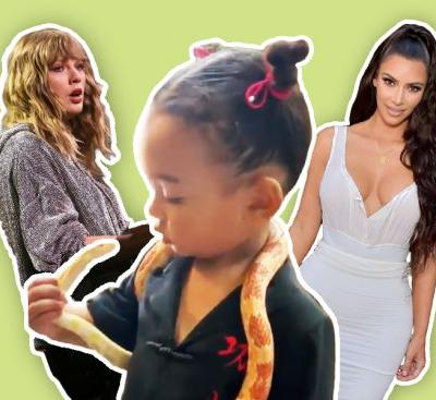 Hold Up, Is Chicago West's Snake a Dig at Taylor Swift?