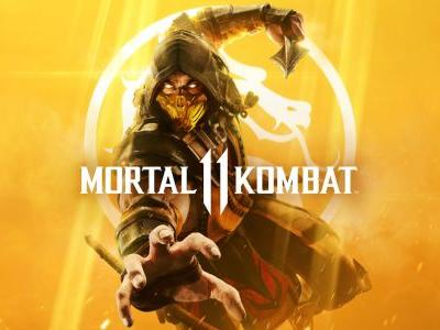 Scorpion is the golden child who's on the cover of Mortal Kombat 11