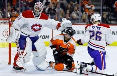 Montreal's Price stops 32 shots to stymie Flyers