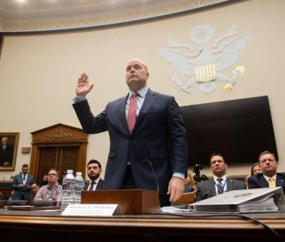 Acting AG Whitaker says he has not interfered with Mueller investigation