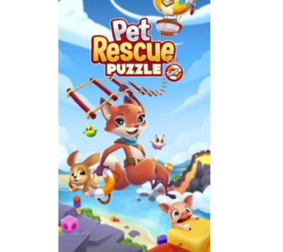 King launches Pet Rescue Puzzle Saga for iOS and Android