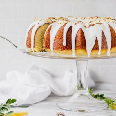 Lemon Almond Bundt Cake