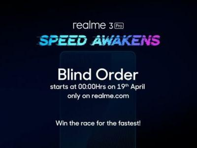 Realme 3 Pro now open for blind pre-orders in India