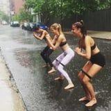 Victoria's Secret Angels Trained Rain or Shine to Get Runway-Ready - See the Videos!