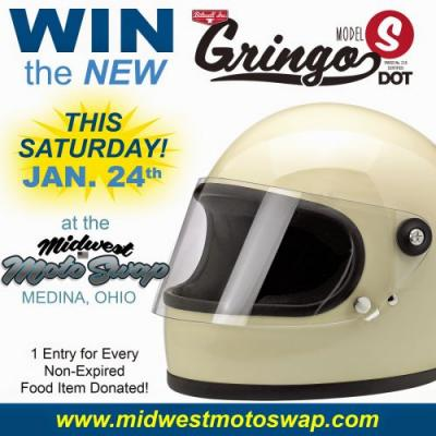 Donate Non-Perishable Food For Your Chance To Win A Biltwell Gringo S Helmet
