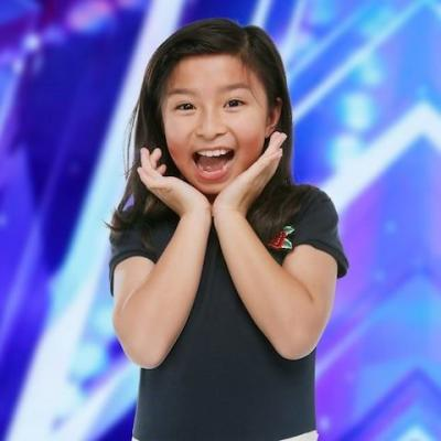 Celine Tam Sings Cute Cover Of 'How Far I'll Go' From Disney's Moana On America's Got Talent