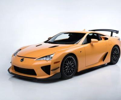 Lexus LFA Nürburgring Package Sells For R9.3 Million At Auction