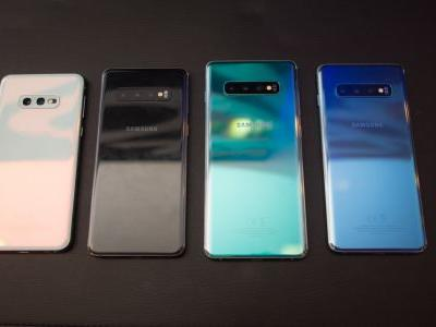 The Samsung Galaxy S10 comes in half a dozen colors, and here they are