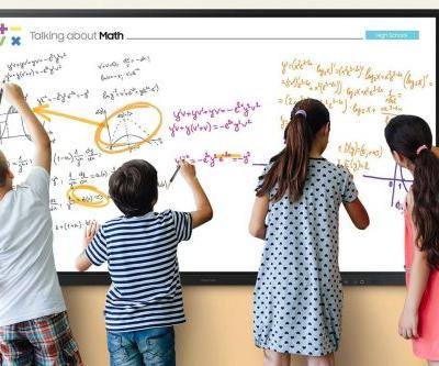 Samsung thinks its new 85-inch Interactive Display is the digital whiteboard for the COVID-19 classroom