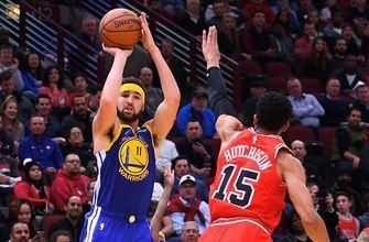 Shannon Sharpe: Nobody in the history of the game can heat up like Klay Thompson