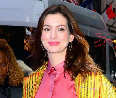 Anne Hathaway Is Serving All the StyleGoals as She Steps Out in NYC